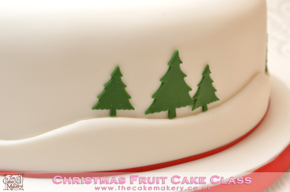 The Cake Makery Christmas Fruit Cake